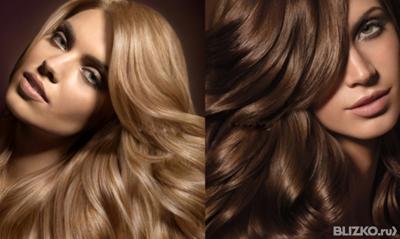 окрашивание коротких волос в один тон