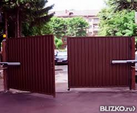 Распашные ворота хабаровск установить ворота цена харьков