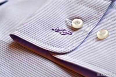 Как сделать монограмму на рубашке
