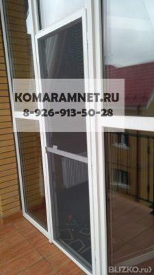 Москитная сетка на балконную дверь в москве. цена товара от .