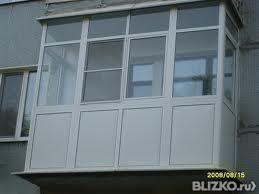 Балконная рама без выноса от пола до потолка в уфе - на порт.