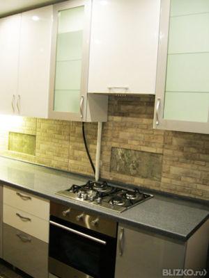 Кухни угловые столешница жидкий камень нижний новгород столешница с закруглением
