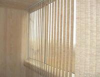 Вертикальные тканевые жалюзи на 3-створчатое окно в набережн.