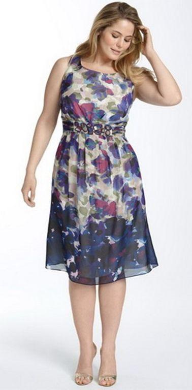 e89edda4590 Пошив платья большого размера из шифона