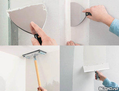 Шпатлевание бетона формула расчета цементного раствора